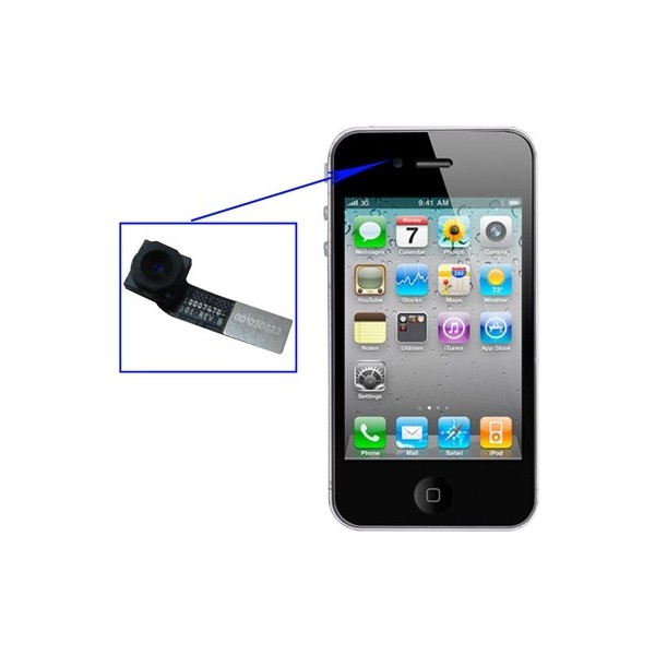 Appareil photo avant iphone 4