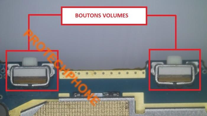 Boutons volumes nexus 5