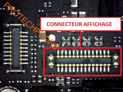 CONNECTEUR AFFICHEUR iphone 5C