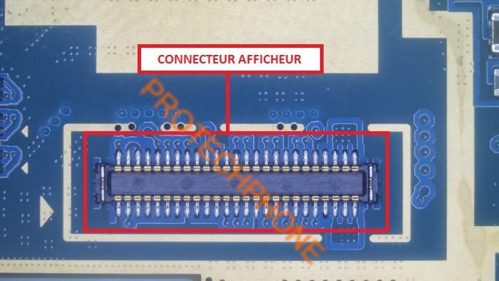 Connecteur afficheur s4 mini