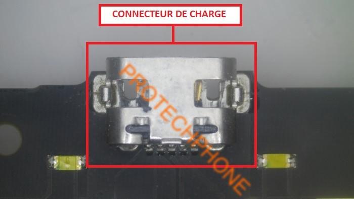 Connecteur de charge alcatel onetouch