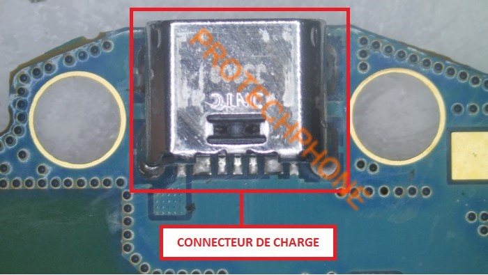 Connecteur de charge t110