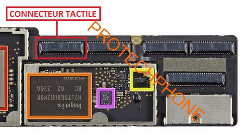 Connecteur tactile ipad4