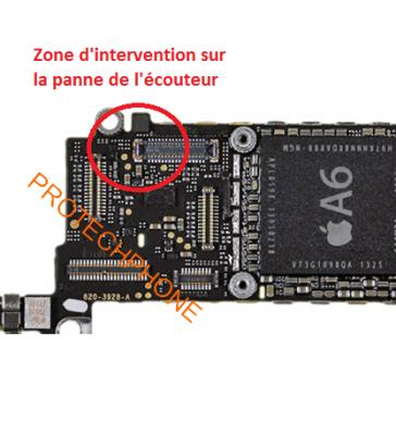 ECOUTEUR/HAUT PARLEUR iphone 5S