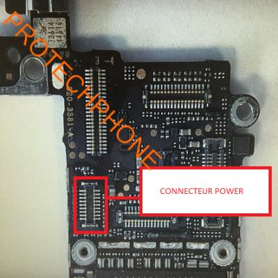 CONNECTEUR NAPPE POWER iphone 5C