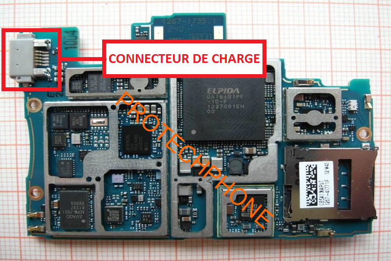Sony xperia z fcc charge