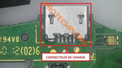 Connecteur De Charge Wiko Cink Peax 2