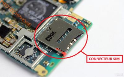 CONNECTEUR SIM XPERIA Z2