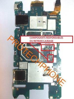 RETROECLAIRAGE XPERIA Z3 Compact