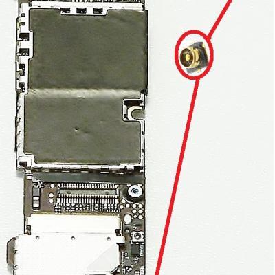 CONNECTEUR ANTENNE RESEAU / Wi-Fi iphone 4S