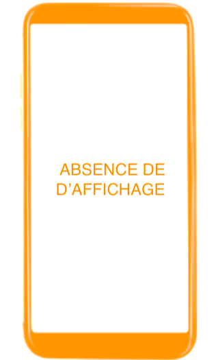 Absence d affichage