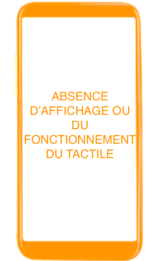 Absence de tactile