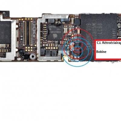 RETROECLAIRAGE ECRAN iphone 4