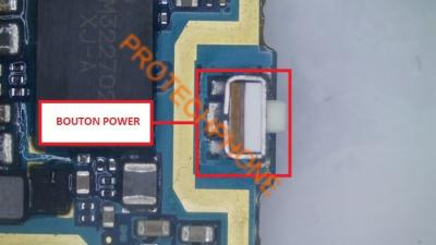 BOUTON POWER S4 I9505