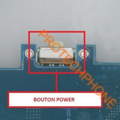 BOUTON POWER S4 MINI I9195