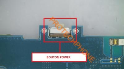 BOUTON POWER S4 MINI I9195