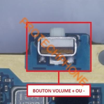 BOUTON VOLUME + - S4 I9505