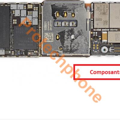 Réparation affichage iphone 8