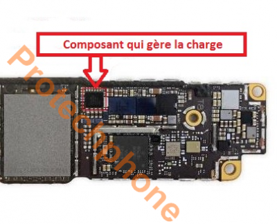 Réparation de la charge iphone 8