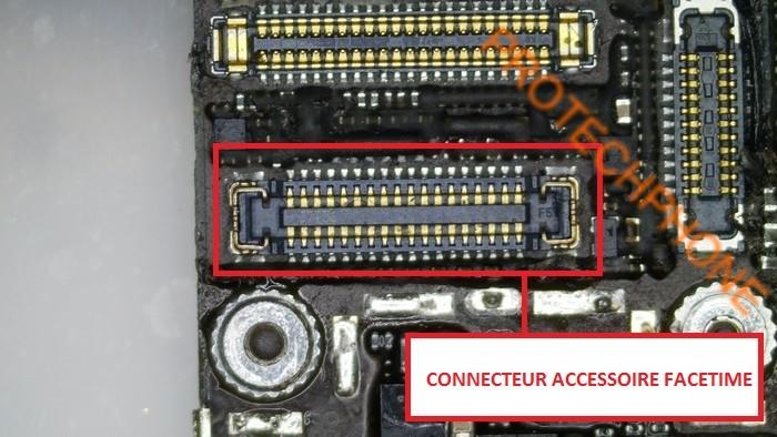 Connecteur accessoire facetime
