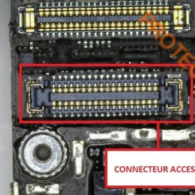 CONNECTEUR NAPPE DE PROXIMITE / ECOUTEUR / CAMERA iPhone 6
