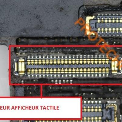 CONNECTEUR AFFICHEUR iPhone 6 S