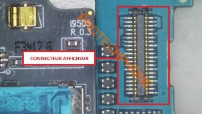 CONNECTEUR AFFICHEUR S4 I9505