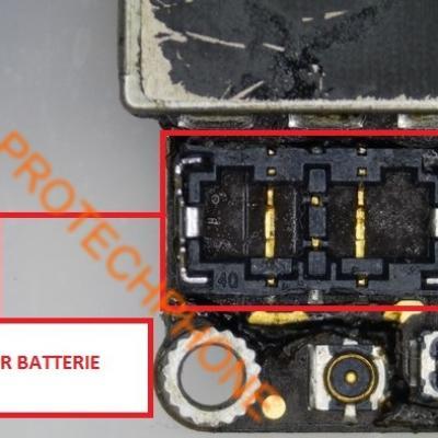 CONNECTEUR BATTERIE iPhone 6 S