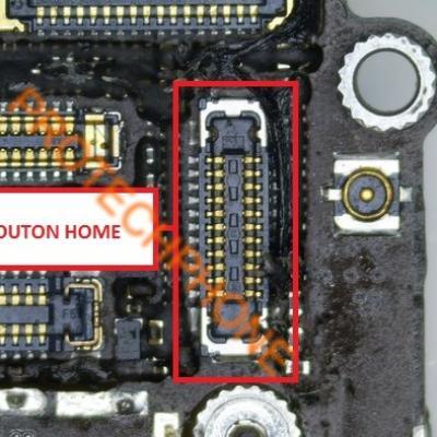 CONNECTEUR BOUTON HOME iPhone 6 S