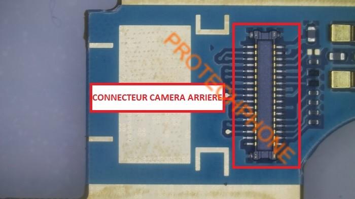 Connecteur camera arriere 1