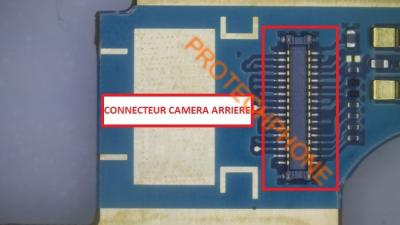CONNECTEUR CAMERA ARRIERE S4 I9505