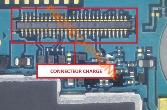 Connecteur charge bouton retour 1