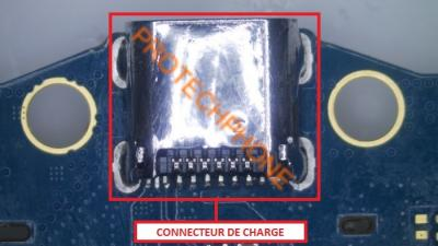 Connecteur de charge Tab 3 T210