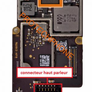 Connecteurhautparleuripad3