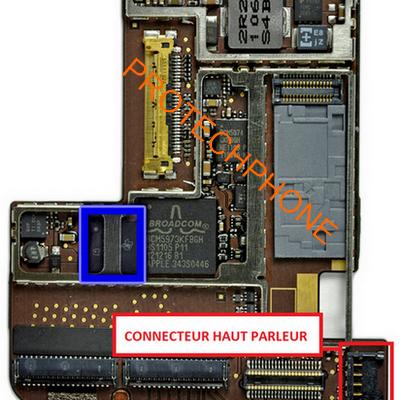 CONNECTEUR HAUT PARLEUR ipad 2
