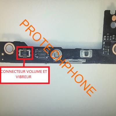CONNECTEUR VOLUME HAUT/BAS ET VIBREUR iPhone 6 PLUS