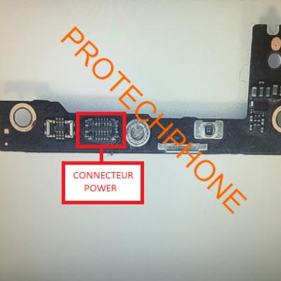 CONNECTEUR NAPPE POWER iPhone 6 PLUS