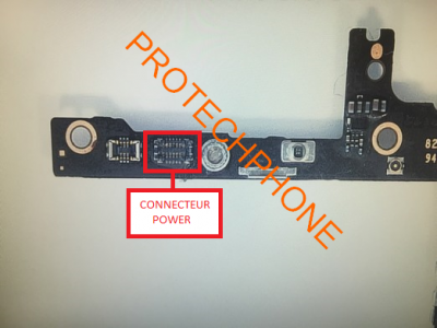 CONNECTEUR NAPPE POWER iPhone 6 PLUS