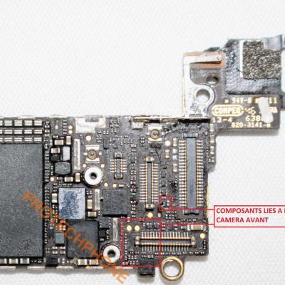 CAMERA AVANT IPhone 5