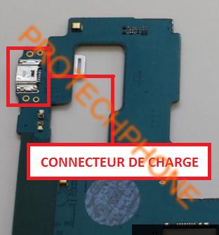 Connecteur de charge Samsung Tab A SM-T350