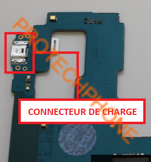 Connecteur de charge Samsung Tab A SM-T350