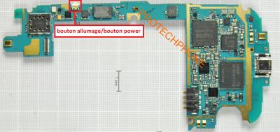 BOUTON POWER I9300