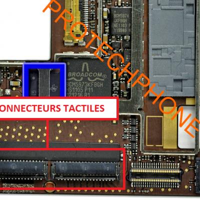 CONNECTEUR TACTILE ipad 2
