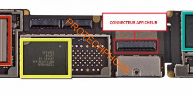 CONNECTEUR NAPPE AFFICHAGE ipad 3