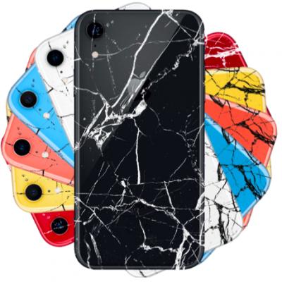 Réparation de la vitre arrière iPhone XR