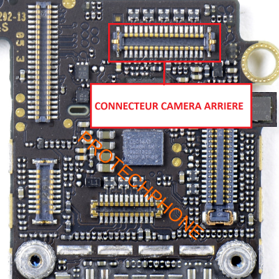 CONNECTEUR CAMERA / APPAREIL PHOTO ARRIERE iphone 5S