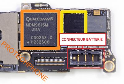 CONNECTEUR BATTERIE Iphone 5S