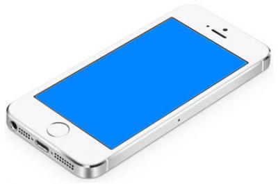 ECRAN BLEU iphone 5S