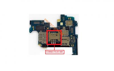 CONNECTEUR SIM N7000