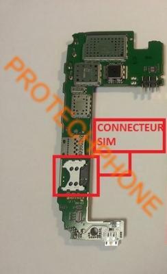CONNECTEUR SIM NOKIA 520